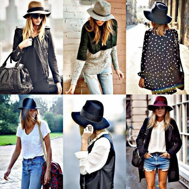 How to Chic: FELT HAT TREND