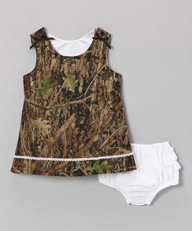 Take a look at this Conceal Green Camouflage Jumper & Diaper Cover - Infant & Toddler by Bonnie's Sportswear on #zulily today!