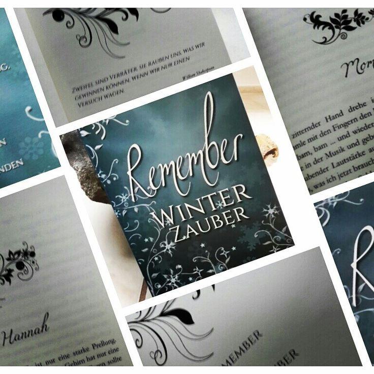Endlich ist es da! Das #Taschenbuch von #REMEMBERWinterzauber ist wunderschön geworden, mit kleinen Ornamenten liebevoll gestaltet. Bald auch für meine #Leser im #Buchhandel erhältlich