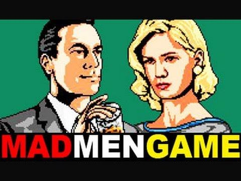 Mad Men: The Game - 8-Bit - Well done Fine Brothers! via @FastCoCreate TheFineBros Youtube Channel: http://www.youtube.com/user/TheFineBros?feature=watch