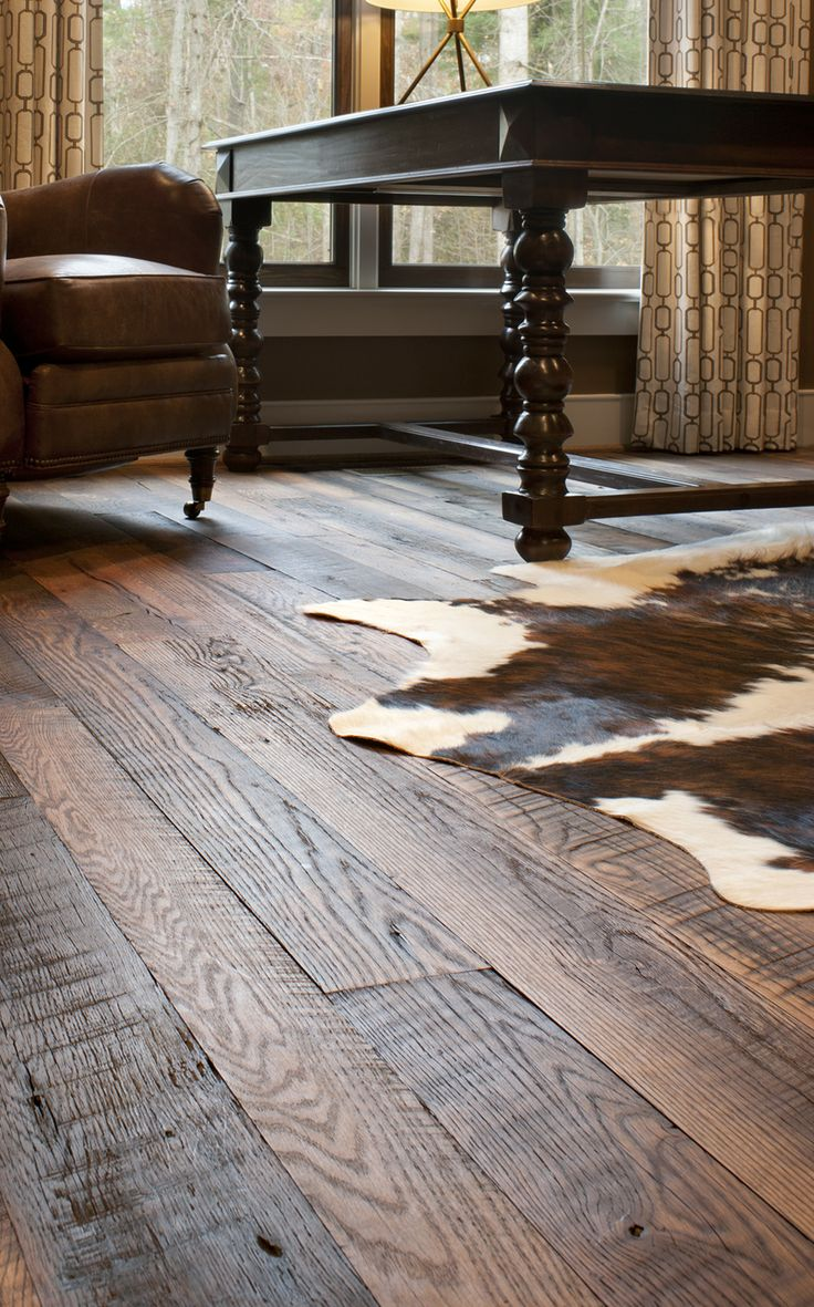Reclaimed Antique Oak, In Our Carolina Character© Floor Style, With A  Natural Oil