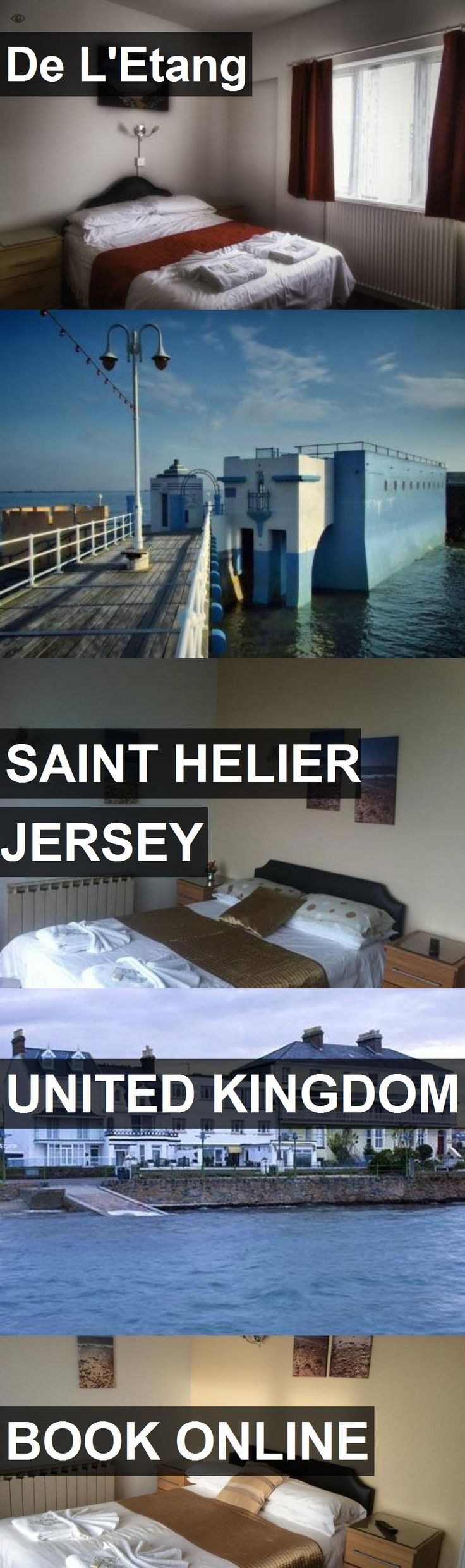 Hotel De L'Etang in Saint Helier Jersey, United Kingdom. For more information, photos, reviews and best prices please follow the link. #UnitedKingdom #SaintHelierJersey #travel #vacation #hotel