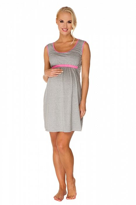 """Mateřská noční košilka """"Suzie"""" - My Tummy - Luxusní, elegantní a praktické oblečení pro těhotné a kojící ženy"""