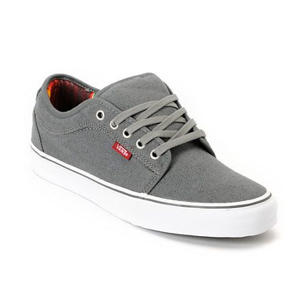 Cruise the streets in custom style with the Zumiez Exclusive Vans Chukka Low Mexican Blanket skate shoe in the grey colorway. This Chukka low-top skate shoe features a durable canvas upper, a vulcanized construction for great board feel a