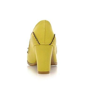 talón talones gruesos de las mujeres de las bombas / zapatos de tacón con zapatos bowknot (más colores) – MXN $ 523.41