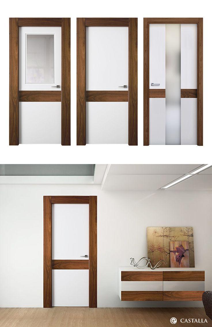 17 best images about puertas blancas puertas de interior for Puertas interiores blancas