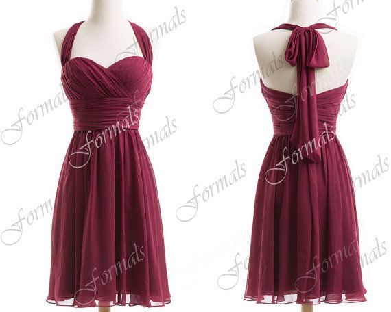 Apparently They Can Make These Floor-length... Burgundy
