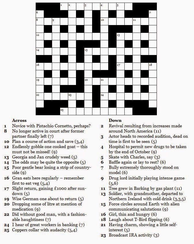 Free Printable Crossword Puzzles Com Imagens