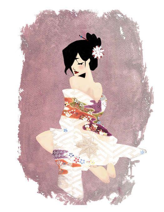 Pin Up Cartoons: Keiko Murayama Designs Cute & Stylish Pin Up Girls