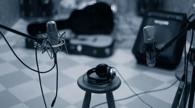 This is an extremely comprehensive list of equipment used for home recording of music or podcasts.