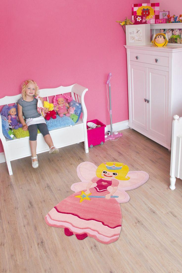 Kids Rug Princess In Lovely Pink For Girls Rooms Arte
