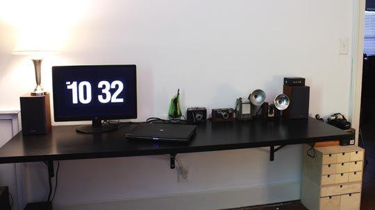 25 best wall mounted desk ikea ideas on pinterest wall mounted folding table folding kitchen. Black Bedroom Furniture Sets. Home Design Ideas