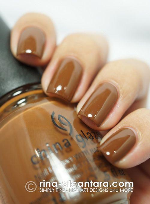 Image Result For Caramel Colored Nail Polish Nails Nail Colors Cool Nail Art