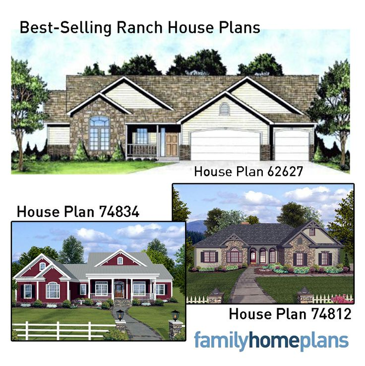 Best selling ranch home plans house plans safe place for Best selling floor plans