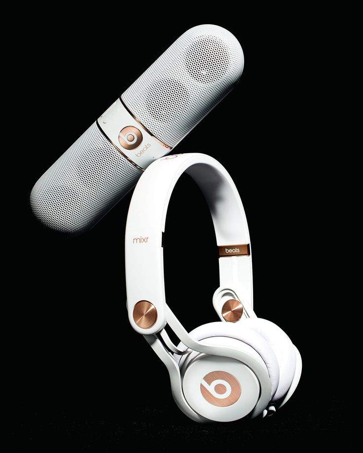 Beats By Dr. Dre Rose-Gold-Tone On-Ear Headphones & Pill Speaker
