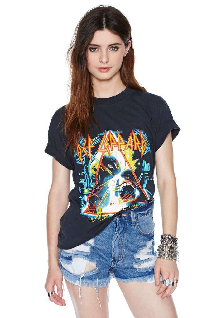 Def Leppard Hysteria Tour Tee #rocktee #vintagetee
