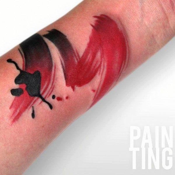 43 best Brush strokes tattoos images on Pinterest | Brush ...