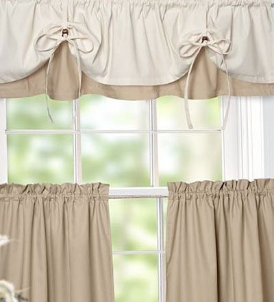 Versa-Tie Valance And Tiers, would like this color combo but not avalible
