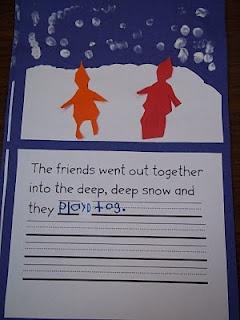 Mrs. Wood's Dual Language Kindergarten Class: The Snowy Day