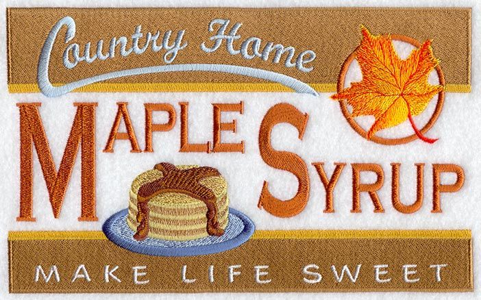 Maple Syrup Vintage Sign