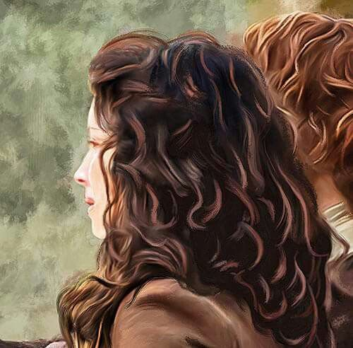 Jamie and Claire ~ Fan art                                                                                                                                                                                 More