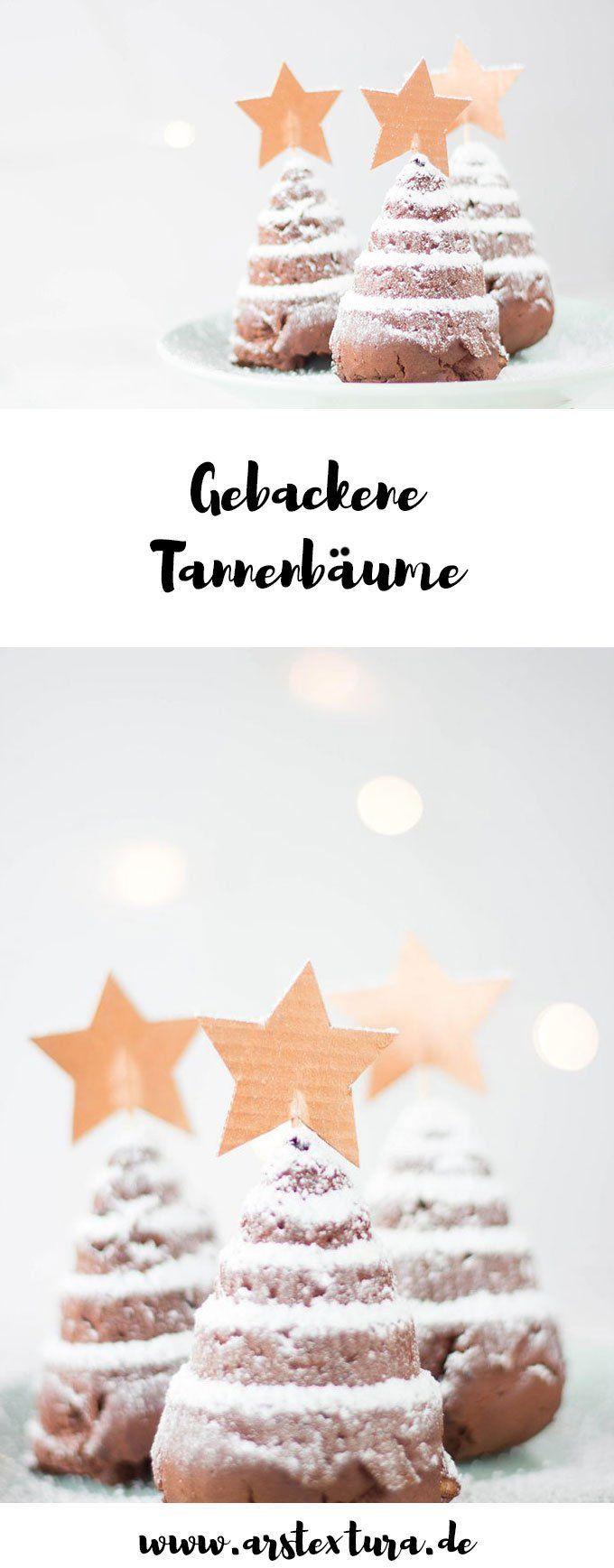 Gebackene Tannenbäume - ein leckeres Weihnachtsrezept