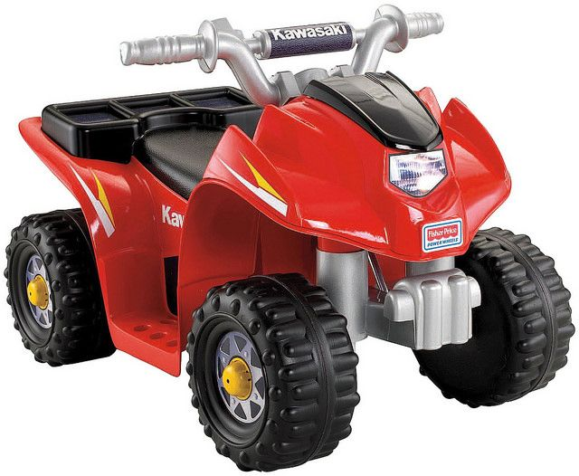 Fisher Price Power Wheels Kawasaki Quad is a best seller electric quad for toddlers