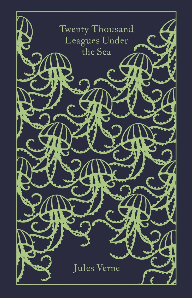 Twenty Thousand Leagues Under the Sea by Jules Verne. Penguin's Clothbound Classics with cover design by Coralie Bickford-Smith.