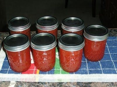 ..... Our Old Homestead: Watermelon Jelly