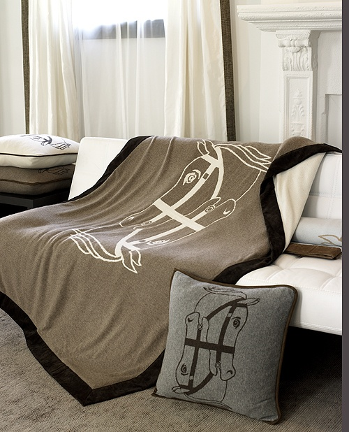 cashmere horse throw