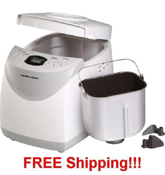2 Pound Automatic Bread Maker MachineGluten-Free Baking Dough Breads Loaf Jams