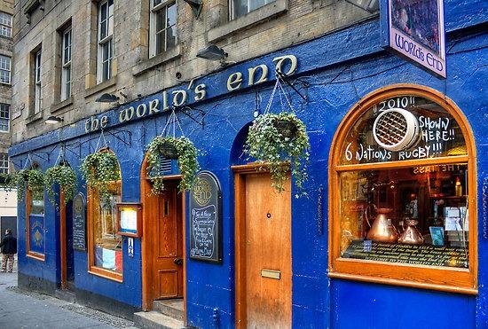 The World's End - Edinburgh