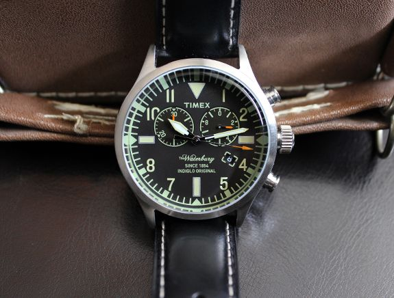 In Review: The Timex Waterbury Chronograph | Dappered.com