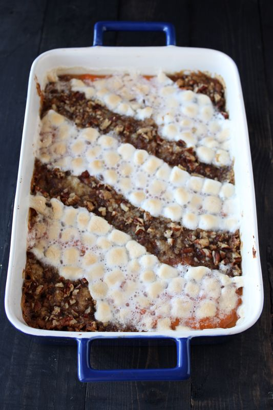Crowd-Pleasing Sweet Potato Casserole -