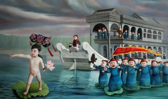 Zhao Limin | The Emperors New Clothes - Summer Palace