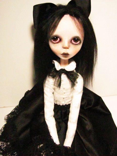 Handmade Collectible -OOAK- Art doll- Clay Jointed -Scarlett by Anastasiasdolls on Etsy