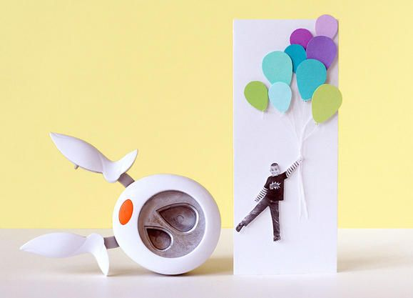 Don't make your next birthday card without including these Paper Punched Balloons!