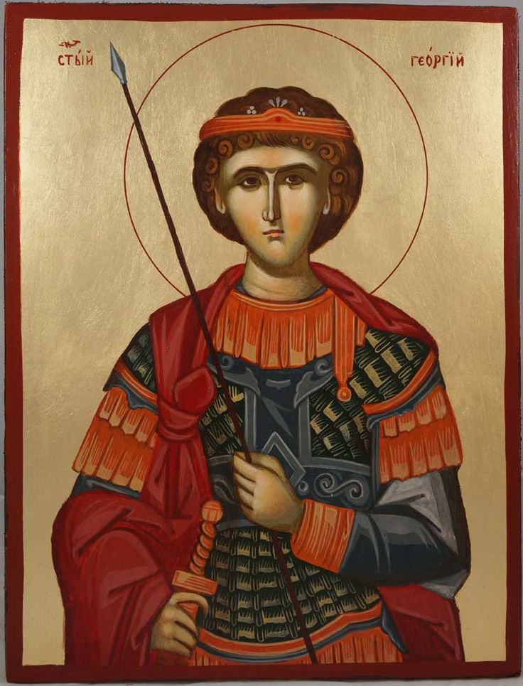 St George (Mount Athos), Greece - hand-painted Byzantine icon About our icons BlessedMart offers hand-painted religious icons that follow the Russian, Greek, Byzantine and Roman Catholic traditions. We partner with some of the most experienced iconographers in the country. Artists with more than 20 years of experience in modern iconography. Each and every icon that we sell in