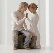 Natural 'Around You' figurine http://www.weddingheart.co.uk/debenhams-wedding-gifts.html
