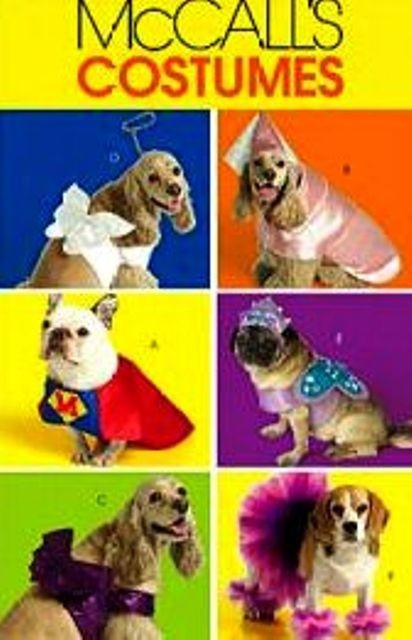 McCALL\'S SEWING PATTERN DOG COSTUMES SIZES XS TO by decoderm007 ...