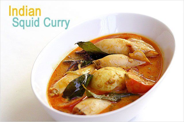 Recipe: Gulai Sotong / Indian Squid Curry Ingredients: 1 lb squid (cleaned) 1 tomato (cut