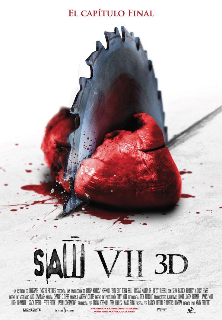 """""""SAW VII 3D - EL JUEGO DEL MIEDO"""" (2010) ►Ver Online: http://www.peliculasmas.com/peliculas-de-terror/4766/ver/the-7sw-2010/"""