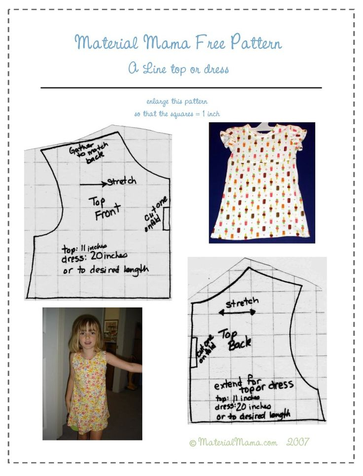 56 best Free Sewing Patterns - Kids\' & Dolls\' Clothes images on ...