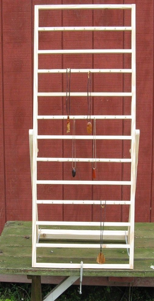 Display ladder this would work for table top towels