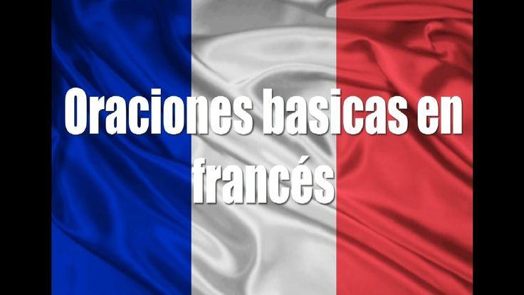 Cursos de francés: Oraciones basicas en francés