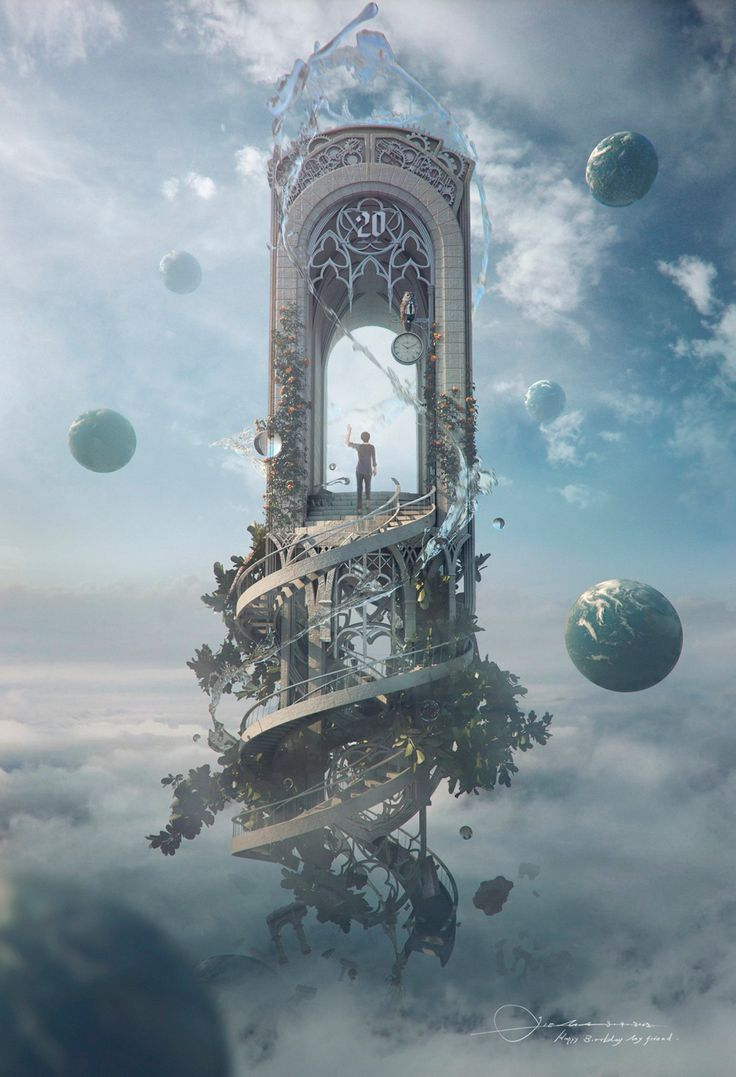 Why is the number 20 so important? What has the character come here to do/go to? Which world would you travel to? (theartofanimation:Jie Ma)