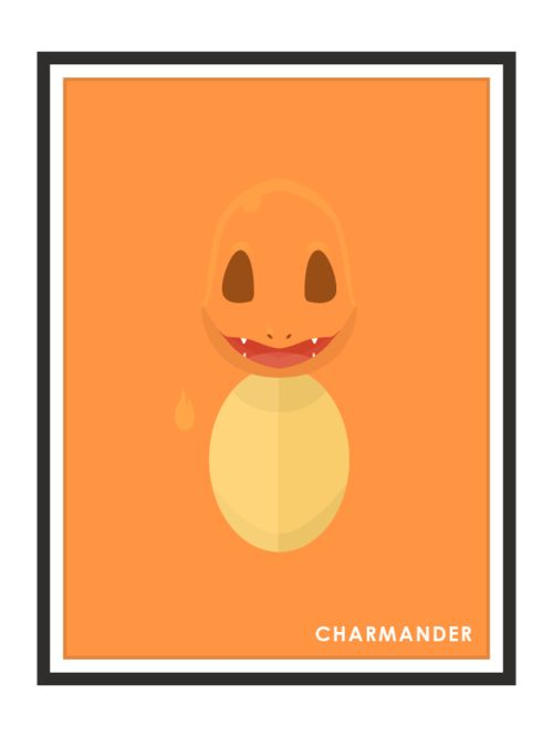 Charmander by Remi Milleret Millimade