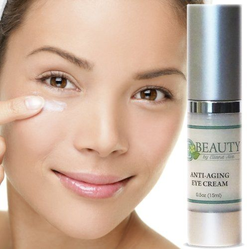 Anti-Aging Eye Cream - Best Age Defying Anti-Wrinkle Skin Care for Men and Women - Natural Replenishing Moisturizer Eye Balm - Aloe Vera + Cucumber + Green Tea Reduces Puffiness, Dark Circles and Bags Under Eyes - Hydrolyzed Collagen + Elastin + Vitamin E for Smoothing Fine Lines Around Your Eyes - Licorice Root Naturally Brightens the Complexion - Advanced Formula for All Skin Types - Lightweight Hypoallergenic Eye Care with Powerful Antioxidant Properties - A Must Have Skin Care Product…
