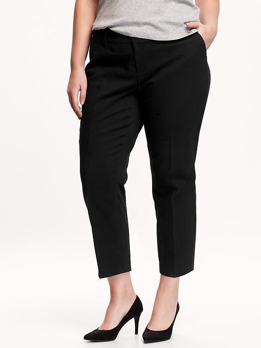 Smooth & Slim Plus-Size Harper Pants