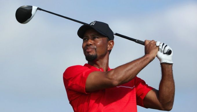 Fourteen-time major winner Tiger Woods shot a three-under-par 69 as he returned at the Hero World Challenge following nine months out injured.